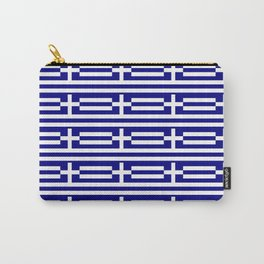 flag of greece 2-Greece,flag of greece,greek,Athens,Thessaloniki,Patras,philosophy,theater,tragedy Carry-All Pouch