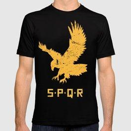 Roman Empire SPQR Eagle T-shirt