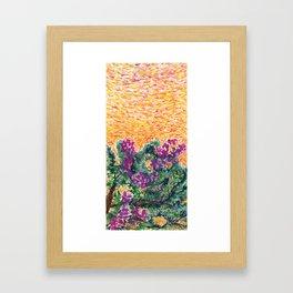 Bougainvillea Tree II Framed Art Print