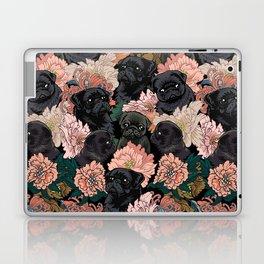 Because Black Pug Laptop & iPad Skin