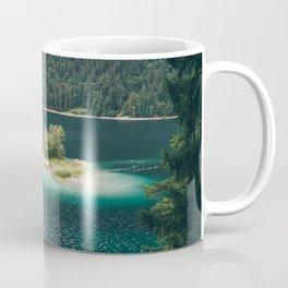 Eibsee Blue Mountain Lake Island Coffee Mug