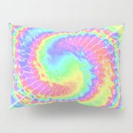 Pastel tie dye style shibori pattern Pillow Sham