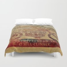 Indian - Vintage Motorcycle Duvet Cover