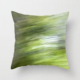 Rainy Day Motion 1 Throw Pillow