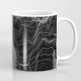 Soft Peaks Black Coffee Mug