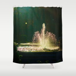 The Fountain of Apollo (soft) Shower Curtain