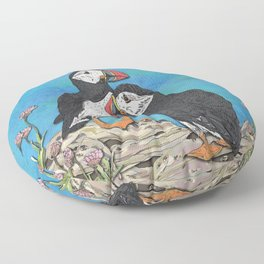 Puffin Perfection Floor Pillow