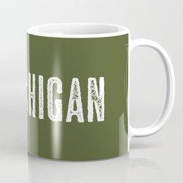 Deer: Michigan Coffee Mug