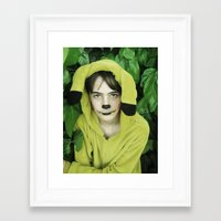 onesie Framed Art Prints featuring Onesie Wonder by Dream Realm Photography and Art