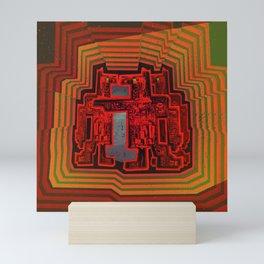 Three's a Crowd / Robotics Mini Art Print