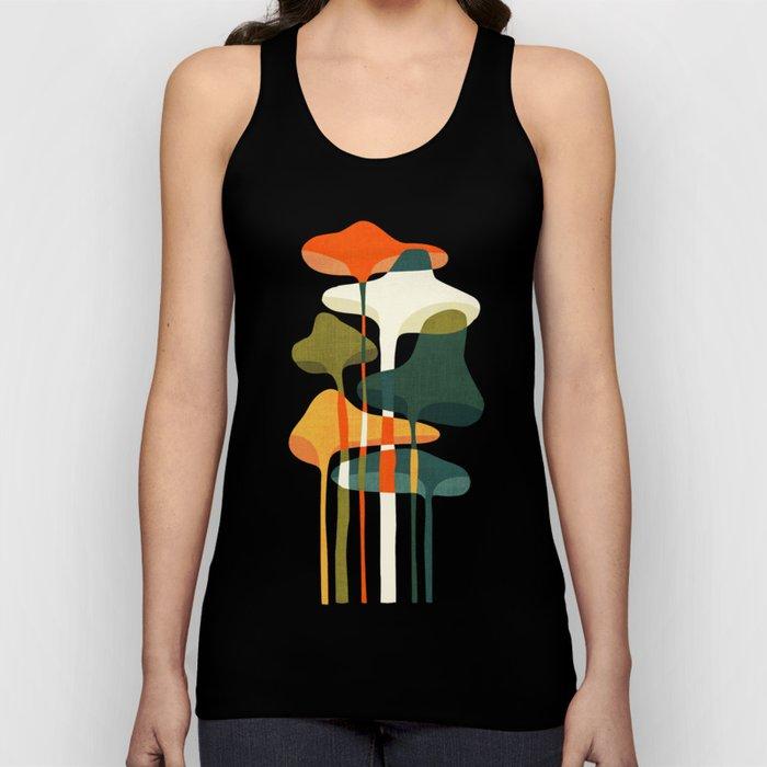 Little mushroom Unisex Tanktop