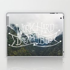 Work Hard Dream Big Laptop & iPad Skin