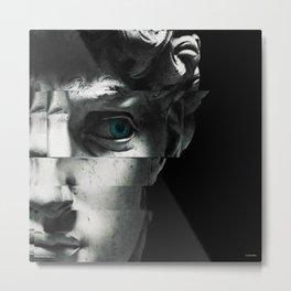 David's eye Metal Print