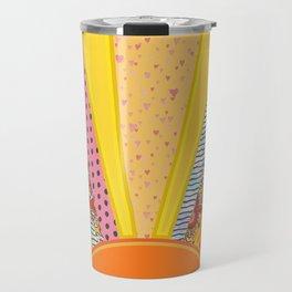 Sun Patterns Travel Mug
