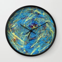 Abstract flower 3 Wall Clock
