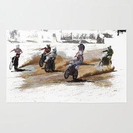 Starting Strong! - Motocross Racers Rug