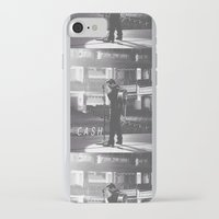 johnny cash iPhone & iPod Cases featuring Johnny Cash by Earl of Grey