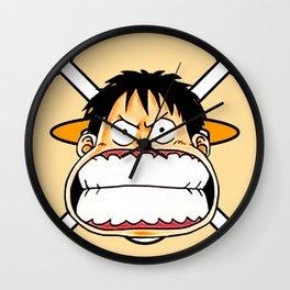 Luffy Mood - OnePiece Wall Clock
