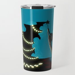 BLACK XMAS: Decorating the Christmas Tree Travel Mug