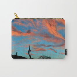 Desert Clouds Carry-All Pouch