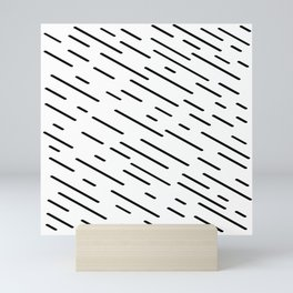 IT'S RAINING SIDEWAYS Mini Art Print