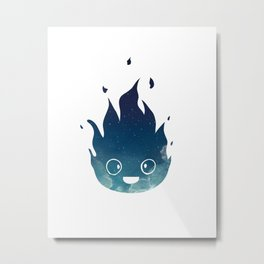 "Calcifer - from Studio Ghibli's ""Howl's Moving Castle"" Metal Print"