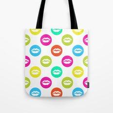 My bright lips Tote Bag