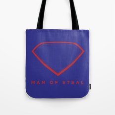 Man of Steal Tote Bag