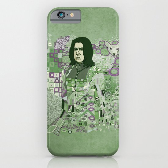 Portrait of a Potions Master iPhone & iPod Case