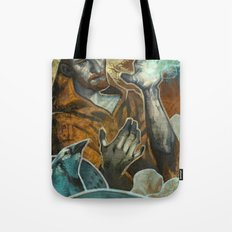 Saint Francis Revisited Tote Bag