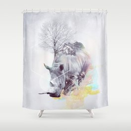 The Odds Shower Curtain