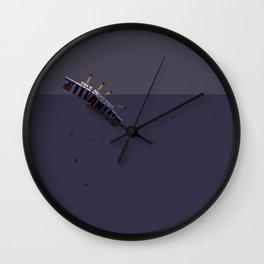 Unsinkable Ship Wall Clock