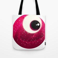 Red Dot Eye Tote Bag