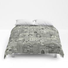 dystopian toile mono Comforters