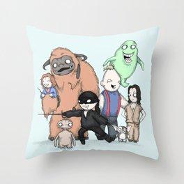 Retro Childhood Throw Pillow