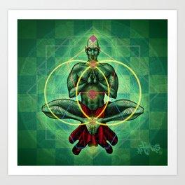 Conscious Enlightement Art Print
