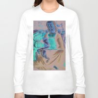 renaissance Long Sleeve T-shirts featuring Renaissance Horror Story by Norms