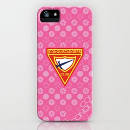 Conquistadores Club iPhone Case
