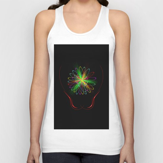 Abstract Perfection 56 Unisex Tank Top