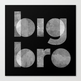 Big Bro Canvas Print