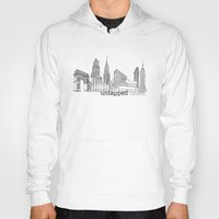 cities Hoodies featuring Untapped Cities by Untapped Cities
