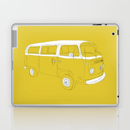 VW T2 Microbus Laptop & iPad Skin