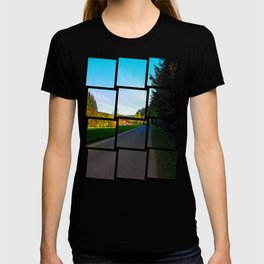 Country road on a spring afternoon | landscape photography T-shirt