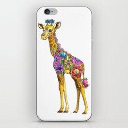 Geraldine the Genuinely Nice Giraffe iPhone Skin