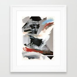 Untitled (Painted Composition 4) Framed Art Print