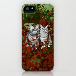 Perry and Monty iPhone Case