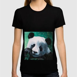 Panda - A little peckish - by LiliFlore T-shirt