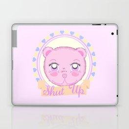 Cute Meanie teddy bear Laptop & iPad Skin