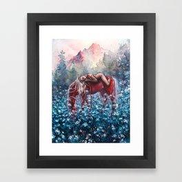 Epona Framed Art Print
