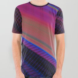 Color Wave ~019~ All Over Graphic Tee